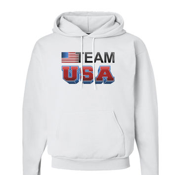 Sporty Team USA Hoodie Sweatshirt
