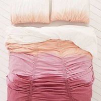 Dipped Gathered Duvet Cover | Urban Outfitters