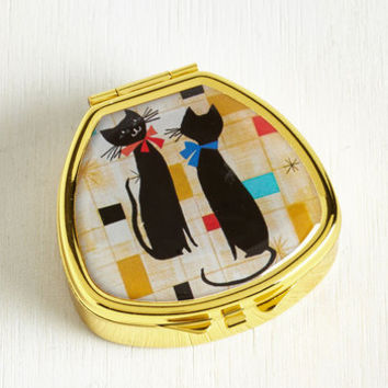 Vintage Inspired Kiss and Belle Lip Balm in Cat by ModCloth