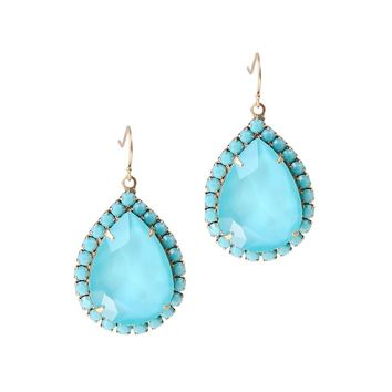 KRISTA EARRINGS IN TURQUOISE