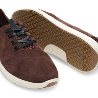 Dark Earth Suede Men's Viaje Sneakers