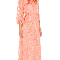 Amanda Bond Valentina Dress in Grapefruit | REVOLVE