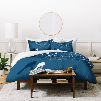 Belle13 Love Song Duvet Cover