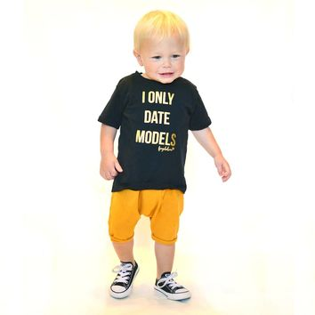 """""""I Only Date Models"""" Premium Baby & Toddler T-Shirt"""