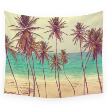 Society6 Tropical Beach Wall Tapestry