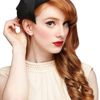 ModCloth Film Noir Graceful Garb Hat