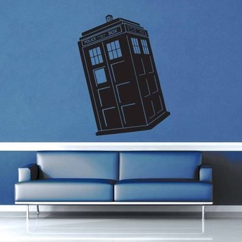 Tardis - Doctor Who - Wall Decal$19.95