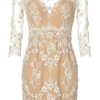 Zuhair Murad - Beaded Lace Cocktail Dress