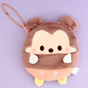 Mickey Mouse Ufufy Plushie Purse - Medium