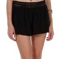 Sale-black Summer Breezin Shorts