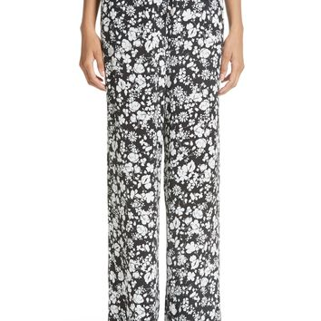 Yigal Azrouël Celosia Floral Print Track Pants | Nordstrom
