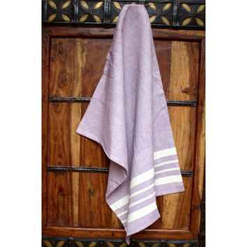Lavender Cotton Kitchen Towel