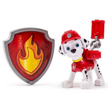 Nickelodeon Paw Patrol - Action Pack Pup & Badge - Marshall EMT