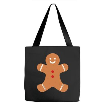 Ginger Bread Pocket Tote Bags