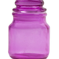 PURPLE CASH & STASH JAR