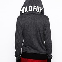 Wildfox Sports Logo Hoodie - Clean black