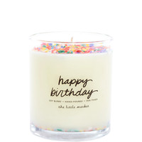 Fair Trade Scented Soy Candle, Natural Ingredients | Happy Birthday – The Little Market