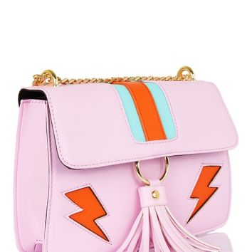 Pink Lightning Laureli Cross Body Bag