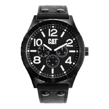 Caterpillar Mens CAMDEN Analog Black Watch
