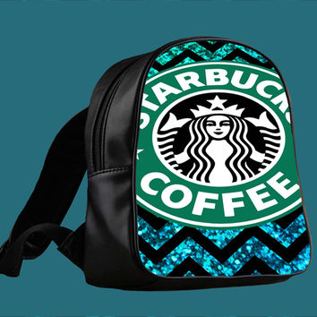 Starbucks Coffee for Backpack / Custom Bag / School Bag / Children Bag / Custom School Bag *