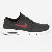 Nike Sb Stefan Janoski Max Mens Shoes Black/White  In Sizes