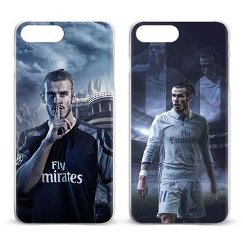 Gareth Bale Fashion Coque Mobile Phone Case Cover Shell Bags For Apple iPhone 8 7 7s Plus 6S 6 Plus 5 5S SE 4S 4