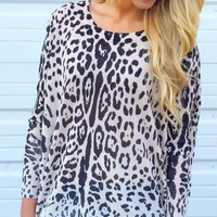 Lady Leopard Sweater