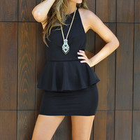 Layer From The Dark Side Dress: Black | Hope's