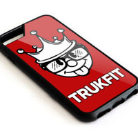 Best Trukfit Red For iPhone 5 5s 6 6s 7 8 X S7 S8 Plus SE Edge Note Case