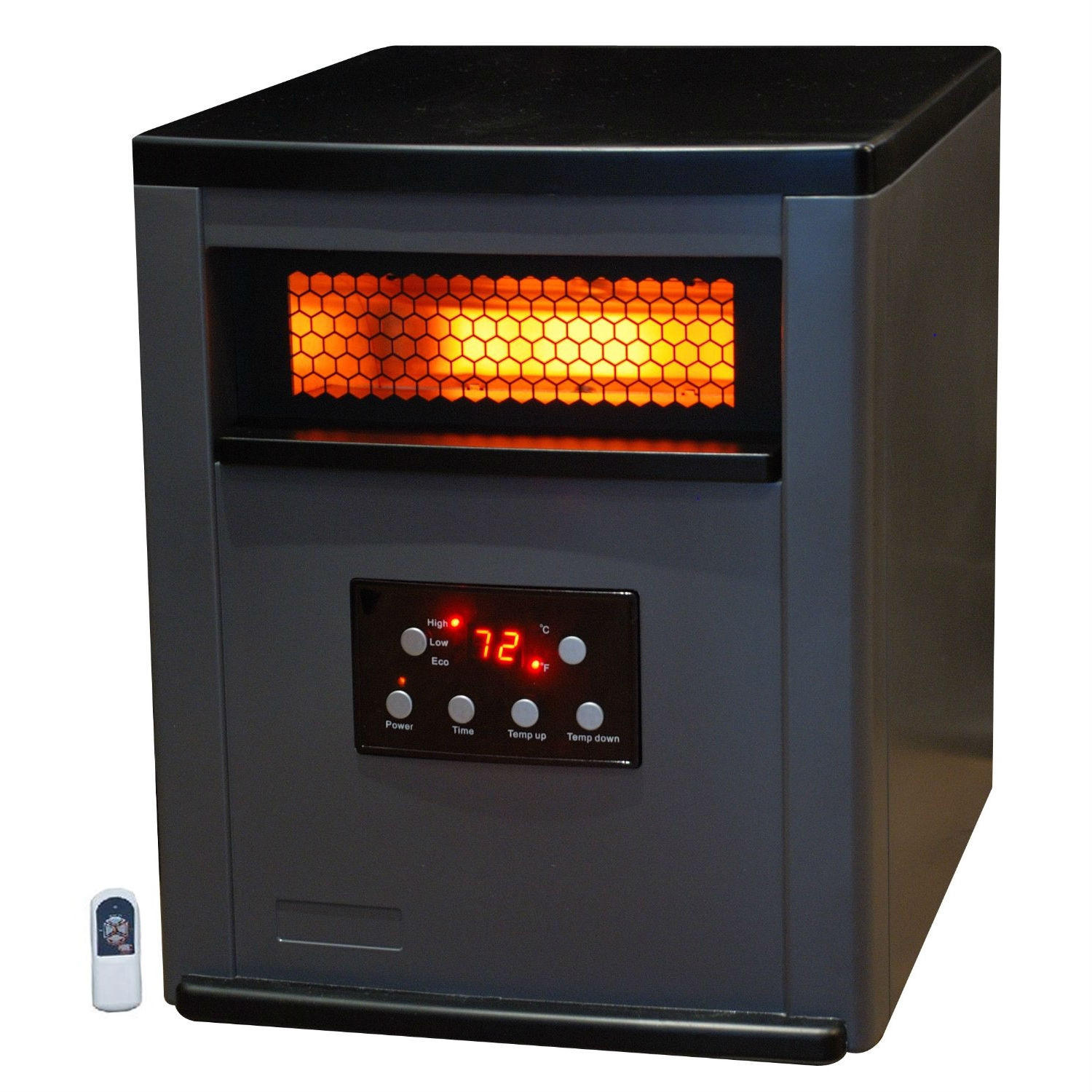 infrared space heater w remote 5 200 from hearts attic bedroom