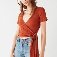 Project Social T Bailey Wrap Tee | Urban Outfitters