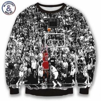 Men/Women's Harajuku Sweatshirts 3D print Jordan 23 all-star game pullover hoodies sudaderas coat clothing