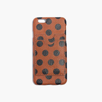 Leather Carryall Case for iPhone® 6 in Dot