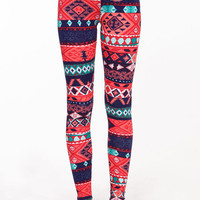 COLORFUL BOHO LEGGINGS