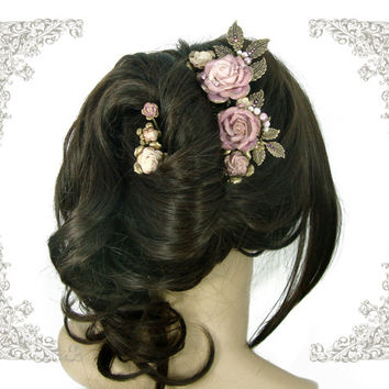 shop victorian hair comb on wanelo