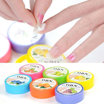 1Box/32pcs Flower Flavor Nail Art Polish Vanish Remover Wet Wipes Paper Towel = 1706192964
