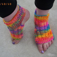 PDF Knitting Pattern for Two-Needle Yoga Socks