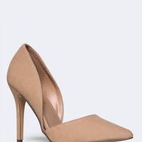 D'ORSAY POINTED TOE PUMP