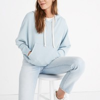 Rivet & Thread Drop-Shoulder Hoodie Sweatshirt