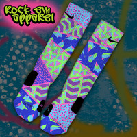 Custom Nike Elite Socks - Bel-Air V | Rock 'Em Apparel