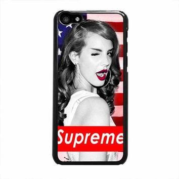 lana del rey supreme american case for iphone 5c