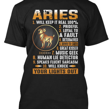 Aries Will Keep It Real 100