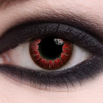 Vampire Blood | Halloween Contact Lenses - ClearlyContacts.ca