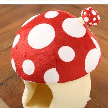 Strapya World : Plush Mushroom House (Red)
