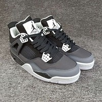 "Women's and Men's NIKE Air Jordan 4 NRG ""Raptors""  Retro Royalty 007"