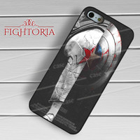 Winter Soldier Captain America - zDzA for  iPhone 4/4S/5/5S/5C/6/6+s,Samsung S3/S4/S5/S6 Regular/S6 Edge,Samsung Note 3/4