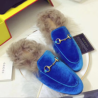 Gucci Women Fashion Casual Slipper Shoes