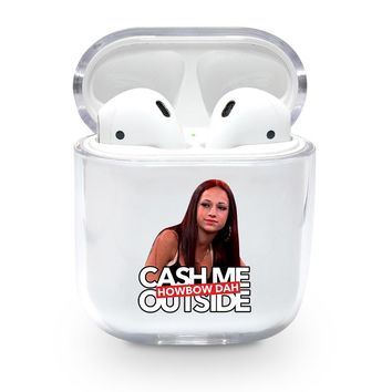 Cash Me Outside HowBow Dah Airpods Case