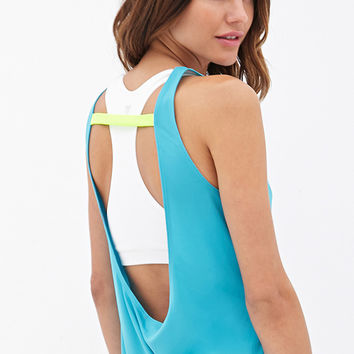 FOREVER 21 Open Back Training Tank