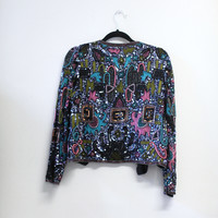 Sequined Blazer (Small/Indie Brands)